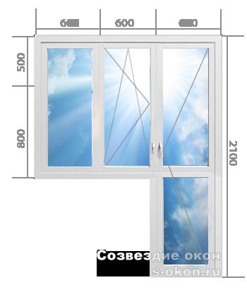 Балконный блок. Тип 5