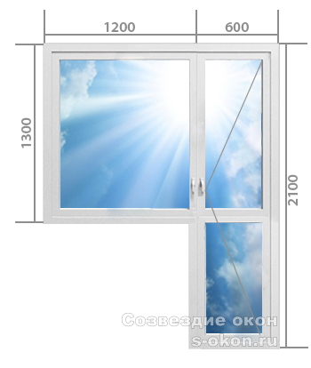 Балконный блок. Тип 1