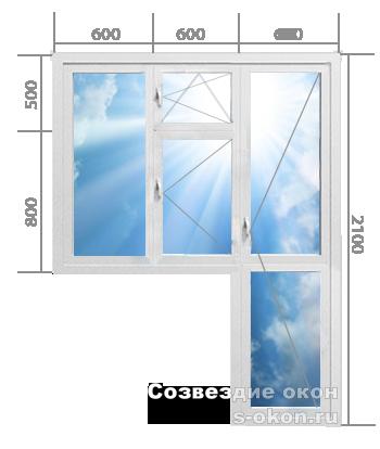 Балконный блок. Тип 8