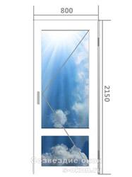 Дверь из алюминиевого профиля