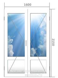 Стоимость алюминиевой двери