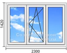 Окна из алюминиевого профиля в Москве
