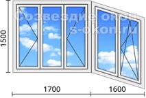 Алюминиевые окна на балкон недорого