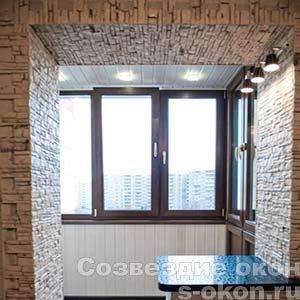 Балкон 3 метра с дизайном