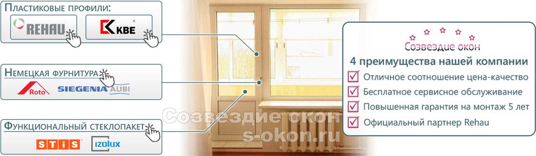 Что такое балконная дверь со стеклопакетом