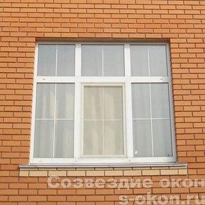 Белые окна ПВХ