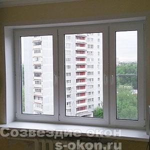 Окна белого цвета