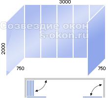 Безрамное остекление балконов стоимость