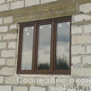 Цена двухкамерного пластикового окна