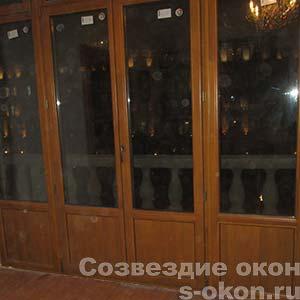Фото деревянных окон