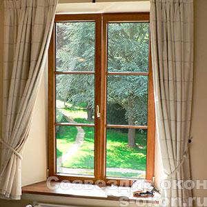 Окна из дерева или пластика