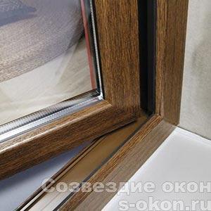 Створка ламинированного окна