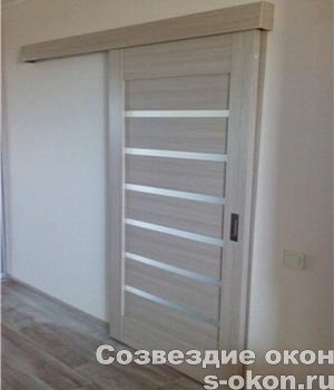 Раздвижные межкомнатные двери на рельсах и роликах