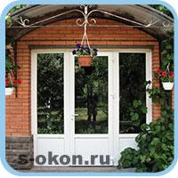 Дверные конструкции в загородных домах
