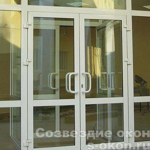 Входные ПВХ двери