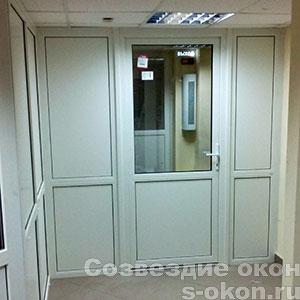 Пример межкомнатной пластиковой двери