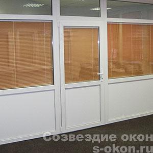 Пример пластиковых межкомнатных дверей