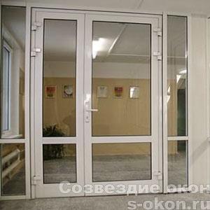 Пример межкомнатных дверей из ПВХ