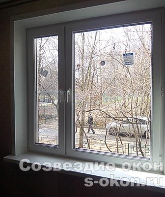 Окна Rehau Intelio 80 в квартире