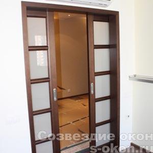 Межкомнатная дверь-купе на заказ