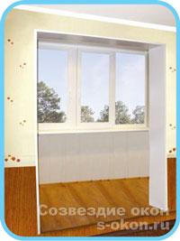 Фото полного объединения балкона с комнатой