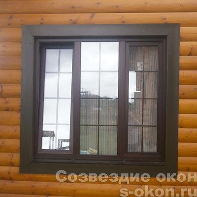 Окна с однокамерным стеклопакетом
