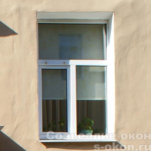 Окна в старом доме