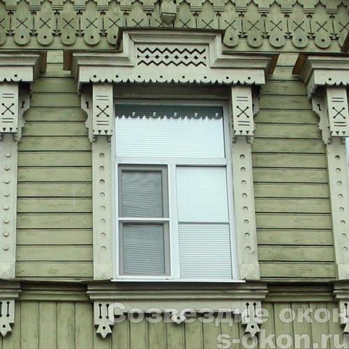 Замена окон в старом доме