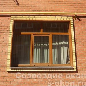 Ламинированные окна КБЕ или РЕХАУ