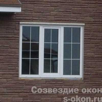 Пластиковое окно со стеклопакетом