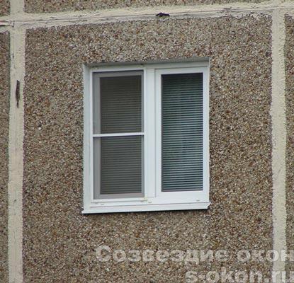 Пример окна в дом Москва