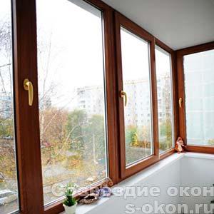 Остекление балконов в Голицыно