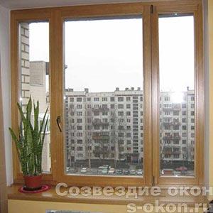 Деревянные окна в г. Электросталь