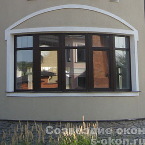 Деревянные окна в г. Пушкино