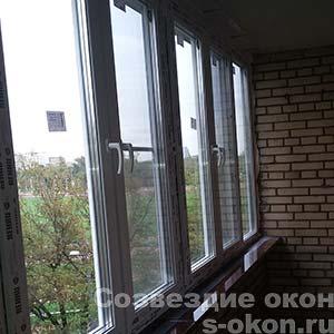 Окна в дом в Ивантеевке