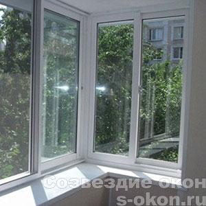 Остекление балконов в Краснозаводске