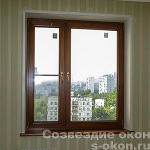 Окна в однокомнатную квартиру без балкона
