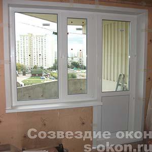 Остекление 3-х комнатной квартиры