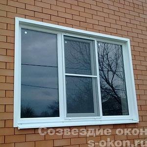 Остекление дома в Звенигороде
