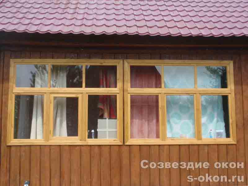 На заказ окна для дачи