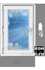 Одностворчатое окно для дачи