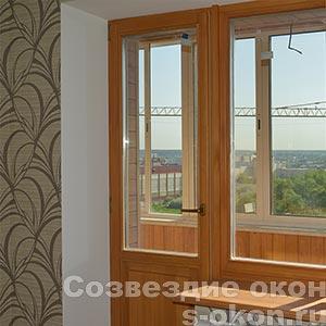 Окна из дуба в Москве