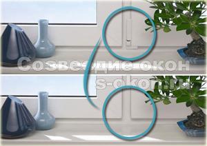 Монтаж скрытых петель производится на окна и двери одним человеком, что положительно влияет на стоимость работ