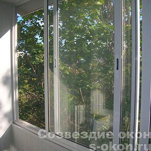 Раздвижные окна Provedal