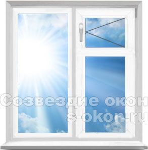 Пластиковые окна с форточкой в москве, цена на окна пвх с.