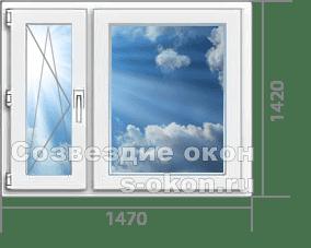 Одно окно