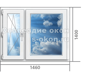 Одно окно в домах серии П-3