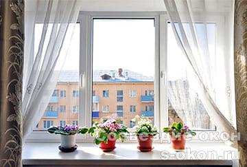 Пластиковое окно в сталинке