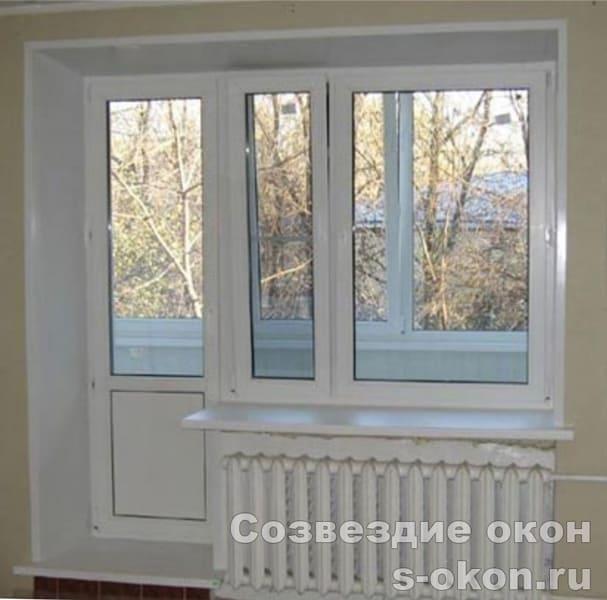 В сталинку окно пластиковое