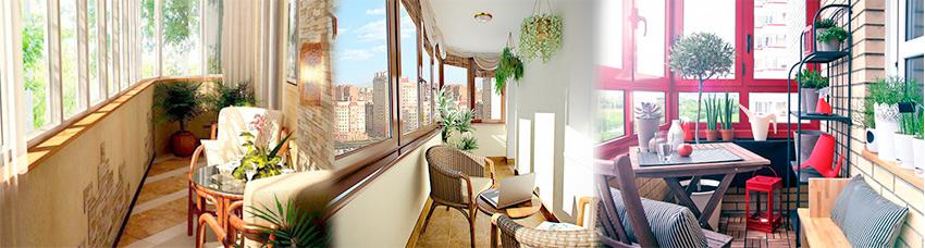 Примеры остекления и отделки балконов